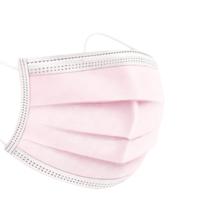 Roze wegwerp mondmaskers